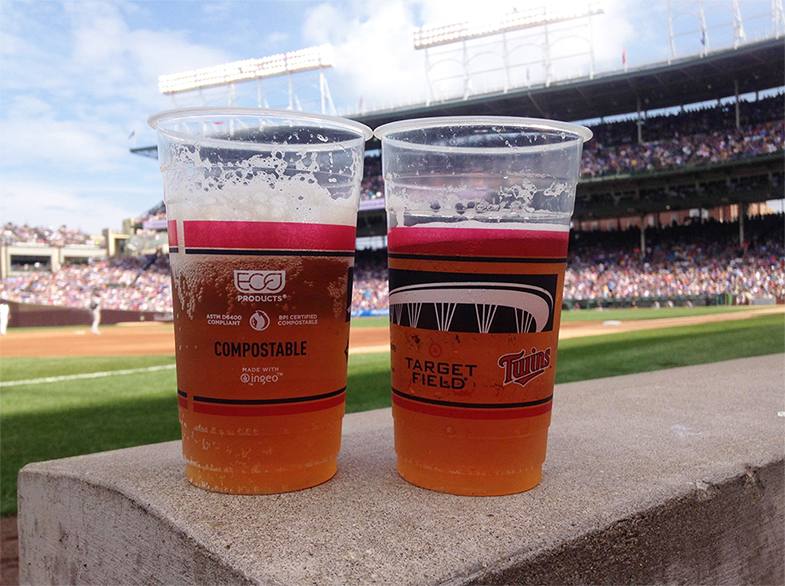 Minnesota Twins Eco Products Team Up Against Ballpark Waste