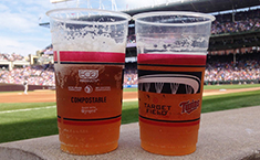 Eco-Products Compostable Cups for the Minnesota Twins