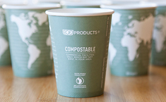 Eco-Products Compostable World Art Hot Cup