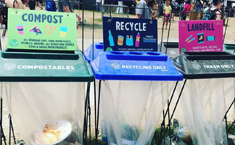 (Nov 2019) With Help from Eco-Products, Bonnaroo Turns 180 Tons of Trash into Treasure