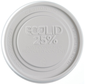 12-32 oz. EcoLid® 25% Recycled Content Food Container Lid