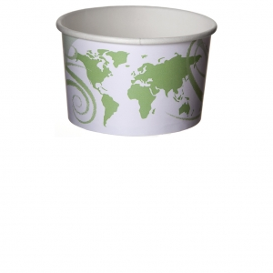 5 oz. World Delight™ Renewable & Compostable Food Container