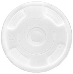 9-24 oz Flat Lid for Recycled Content Cups