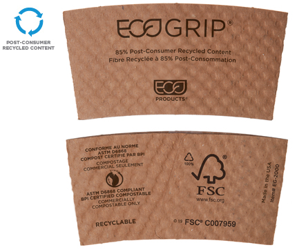 EcoGrip® Hot Cup Sleeve