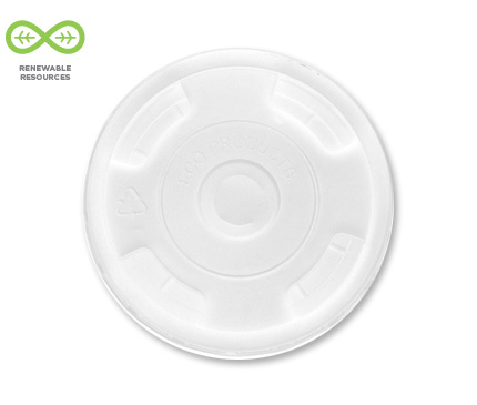 GreenStripe® Renewable & Compostable Cold Cup Lid
