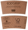 85% Post-Consumer Recycled Content EcoGrip® Hot Cup Sleeve