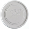 8 oz. EcoLid® 25% Recycled Content Food Container Lid