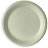 Renewable & Compostable Sugarcane Plates  - 9in