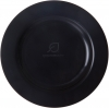 "10.25"" Black Compostable Plate"