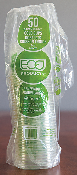 GreenStripe® Cold Cups in a Plastic Sleeve