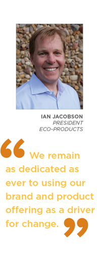 Ian Jacobson - We remain as dedicated as ever to using our brand and product offering as a driver for change.