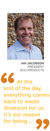 Eco-Products President Ian Jacobson