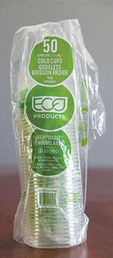 The plastic sleeves our products are packaged in are recycled at some retail drop offs
